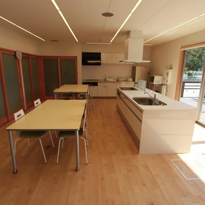 縁側キッチン